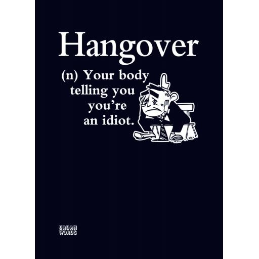 Urban Words Card Collection - Hangover