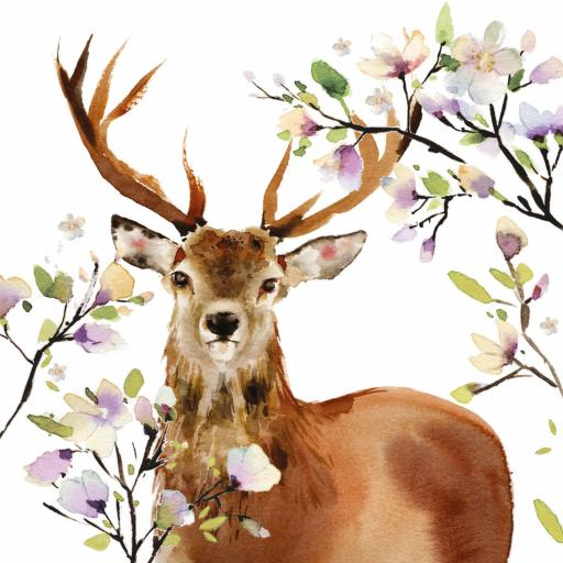 Countryside Collection Card - Beautiful Stag