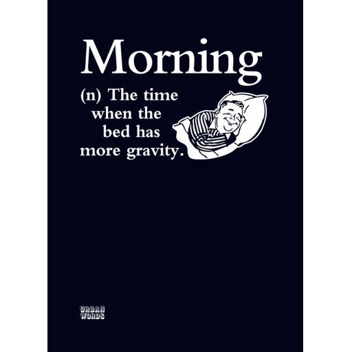 Urban Words Card Collection - Morning