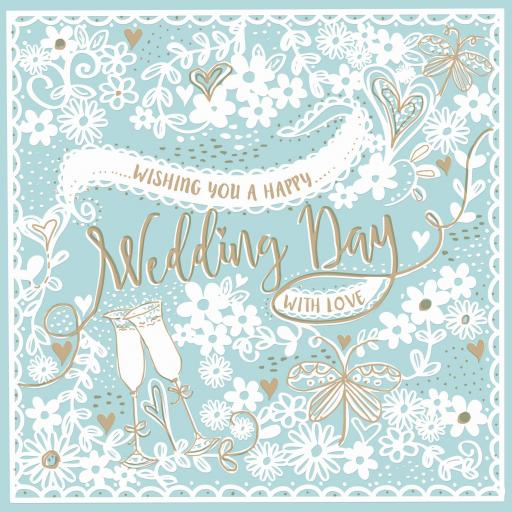 Wedding Card - Papercut
