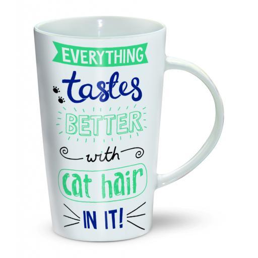 Latte Mug - Cat Hair