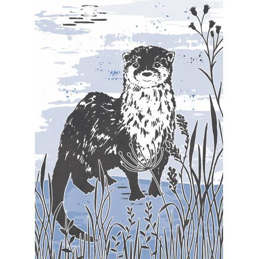 RSPB Card - Wild Meadow Card - Swallow In Flight