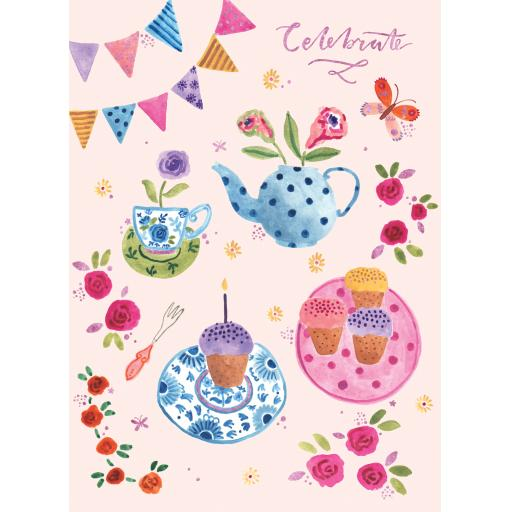 Marie Curie Happy Days Card Collection - Birthday Bunting