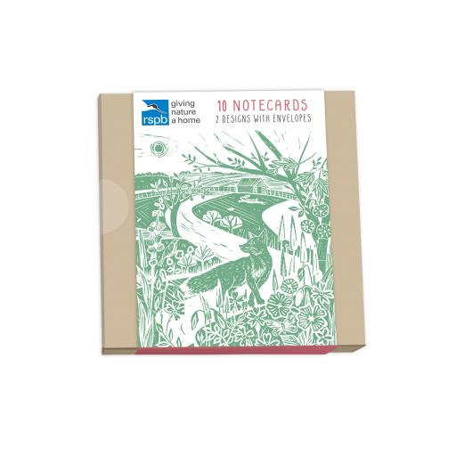 RSPB Natures Print - Notecard Pack (10 Cards) - British Landscapes