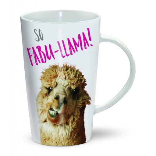 Latte Mug - Fabu-Llama