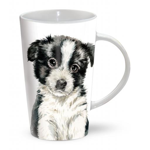 Latte Mug - Border Collie