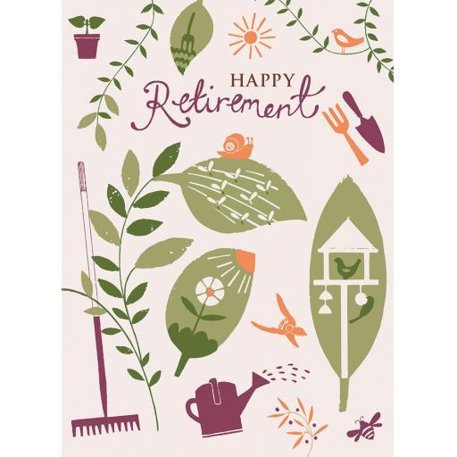 Retirement Card - Garden Elements