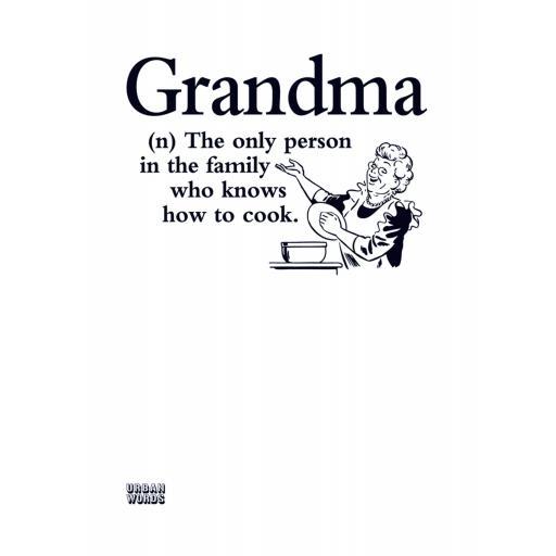 Urban Words Card Collection - Grandma