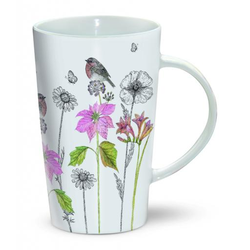Latte Mug - Freesia & Robin