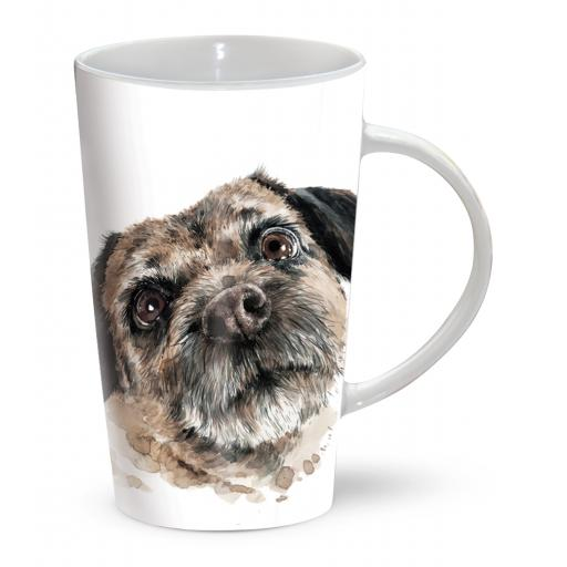 Latte Mug - Border Terrier