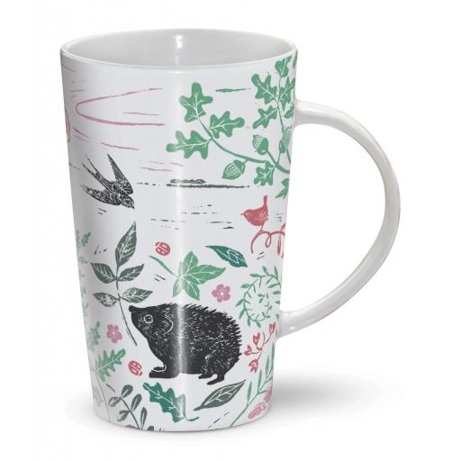 Latte Mug - Hedgehog