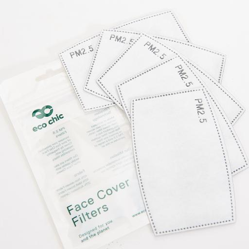 Filters For Face Covering (5 Pack)