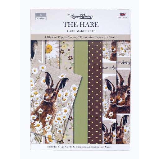 Card Making Kit - The Hare