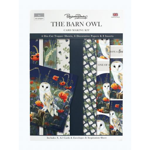 Card Making Kit - The Barn Owl