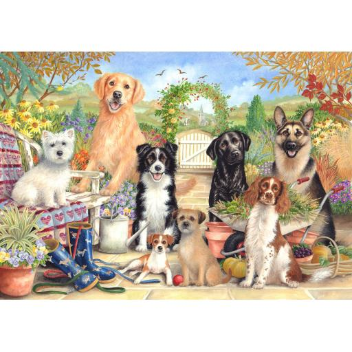 Jigsaw 500 Piece - Waiting For Walkies
