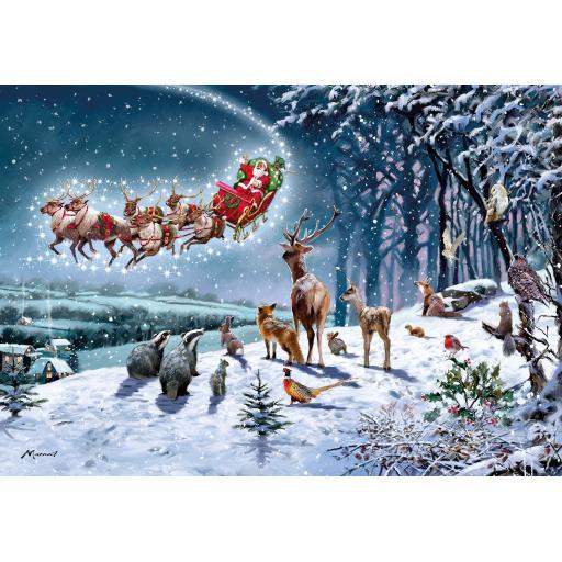 Jigsaw 500 Piece - Magical Christmas