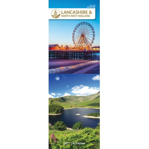 Lancashire & The North West 2021 Slim Calendar