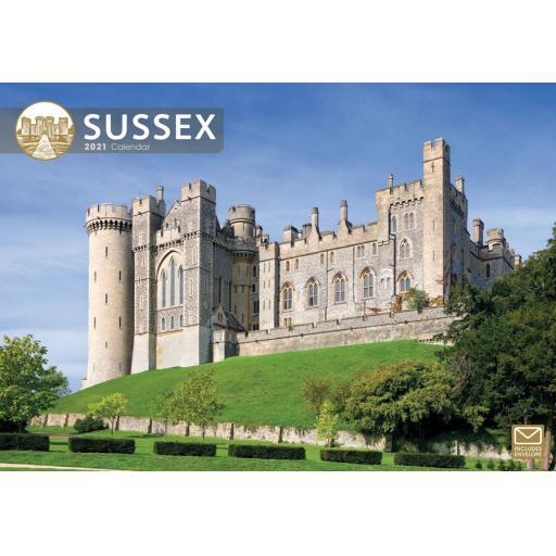 Sussex 2021 A4 Calendar