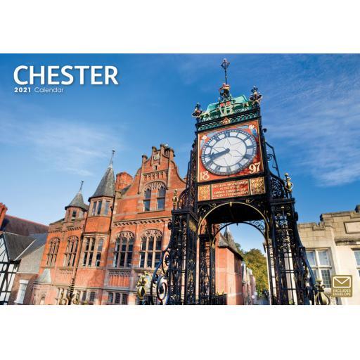 Chester 2021 A4 Calendar
