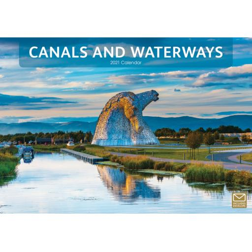 Canals & Waterways 2021 A4 Calendar