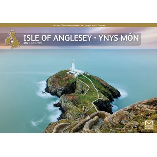 Isle of Anglesey 2021 A4 Calendar