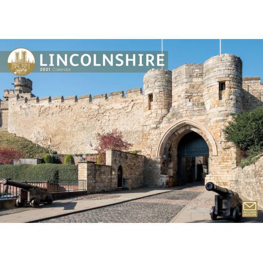 Lincolnshire 2021 A4 Calendar