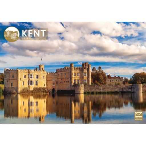 Kent 2021 A4 Calendar