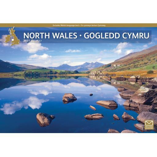 North Wales 2021 A4 Calendar