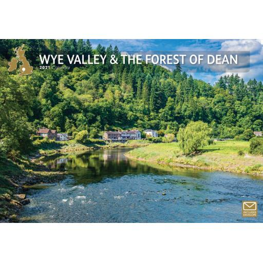 Wye Valley & The Forest of Dean 2021 A4 Calendar