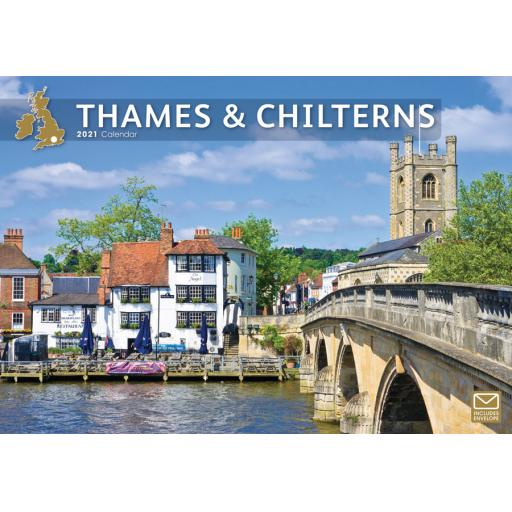 Thames & Chilterns 2021 A4 Calendar