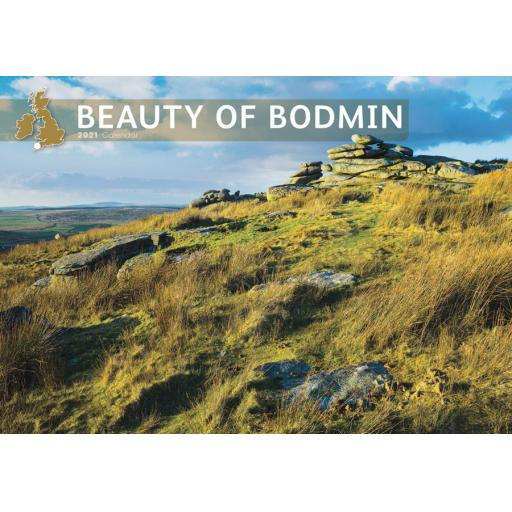 Beauty of Bodmin 2021 A4 Calendar