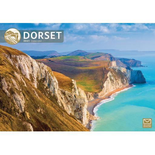 Dorset 2021 A4 Calendar