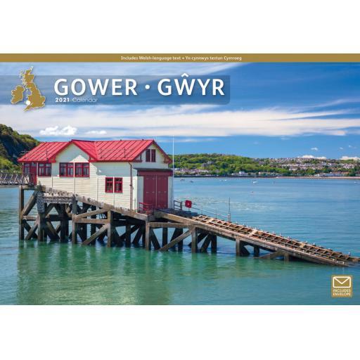 Gower 2021 A4 Calendar