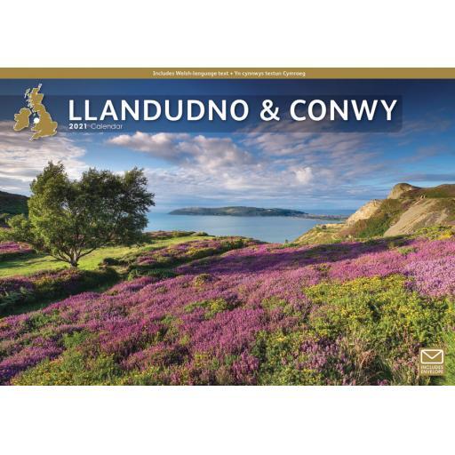 Llandudno and Conwy 2021 A4 Calendar