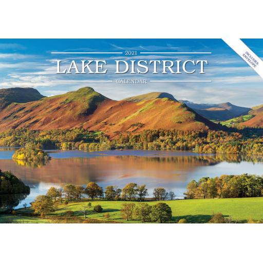 Lake District 2021 Calendar (A5)