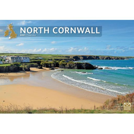 North Cornwall 2021 A4 Calendar