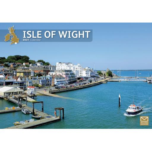Isle of Wight 2021 A4 Calendar