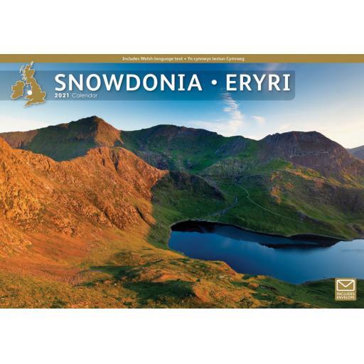 Snowdonia 2021 A4 Calendar