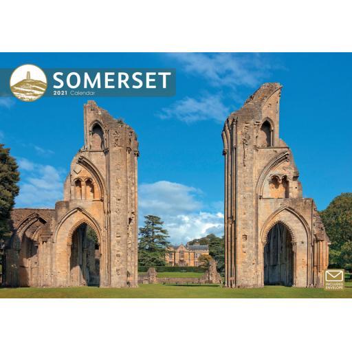 Somerset 2021 A4 Calendar