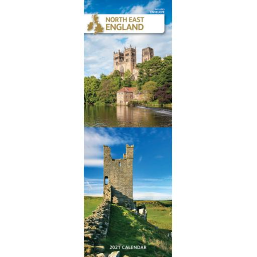 North East England 2021 Slim Calendar