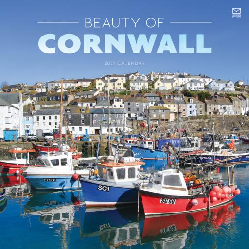 Beauty of Cornwall W 2021 12x12 Calendar