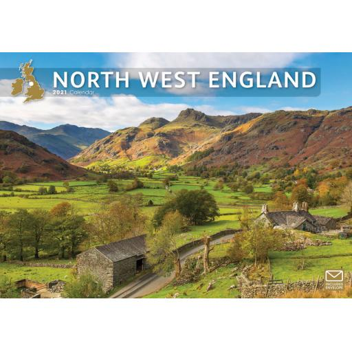 North West England 2021 A4 Calendar