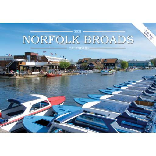 Norfolk Broads 2021 Calendar (A5)