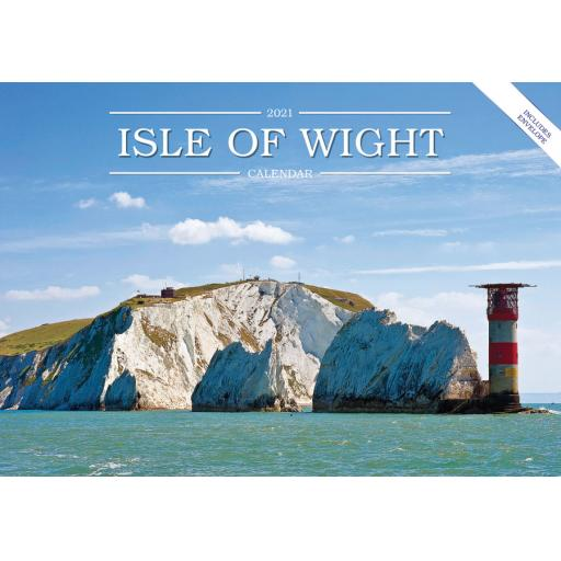 Isle of Wight 2021 Calendar (A5)