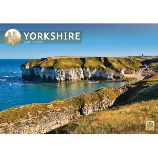 Yorkshire 2021 A4 Calendar