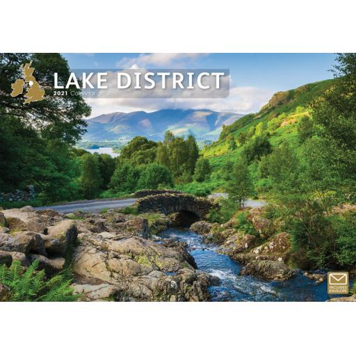 Lake District 2021 A4 Calendar