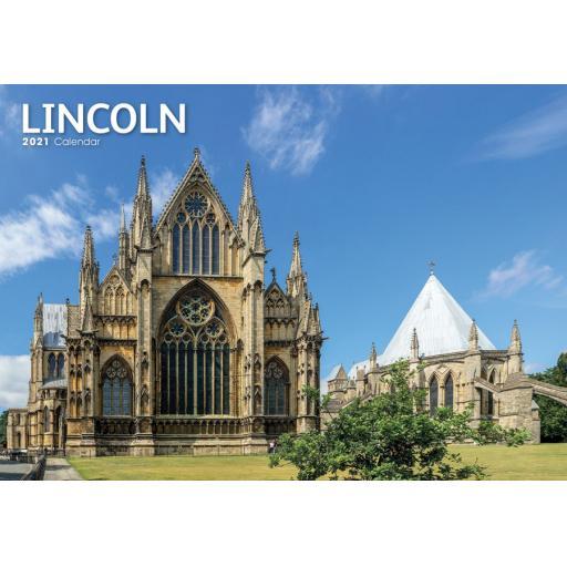 Lincoln 2021 A4 Calendar