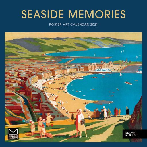 Seaside Memories NRM Wiro W 2021 12x12 Calendar