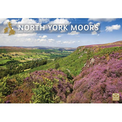 North York Moors 2021 A4 Calendar