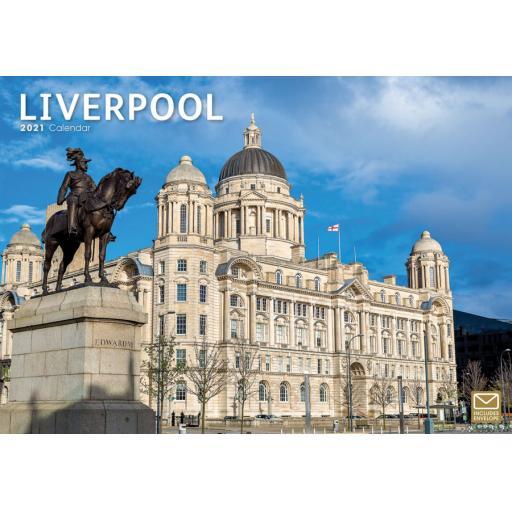 Liverpool 2021 A4 Calendar